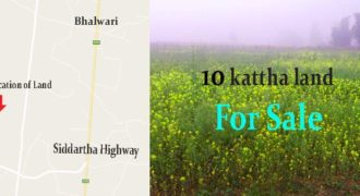 Land for sale, Sakhuwani, Tilottama, Rupandehi