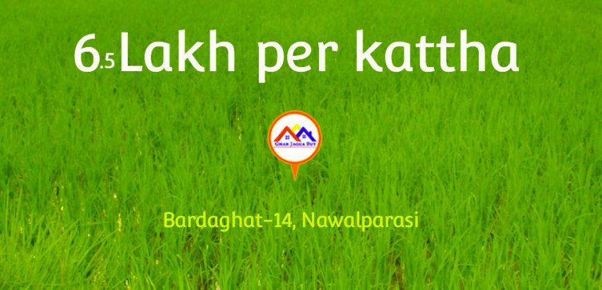 Land for sale in Bardaghat-14, Nawalparasi