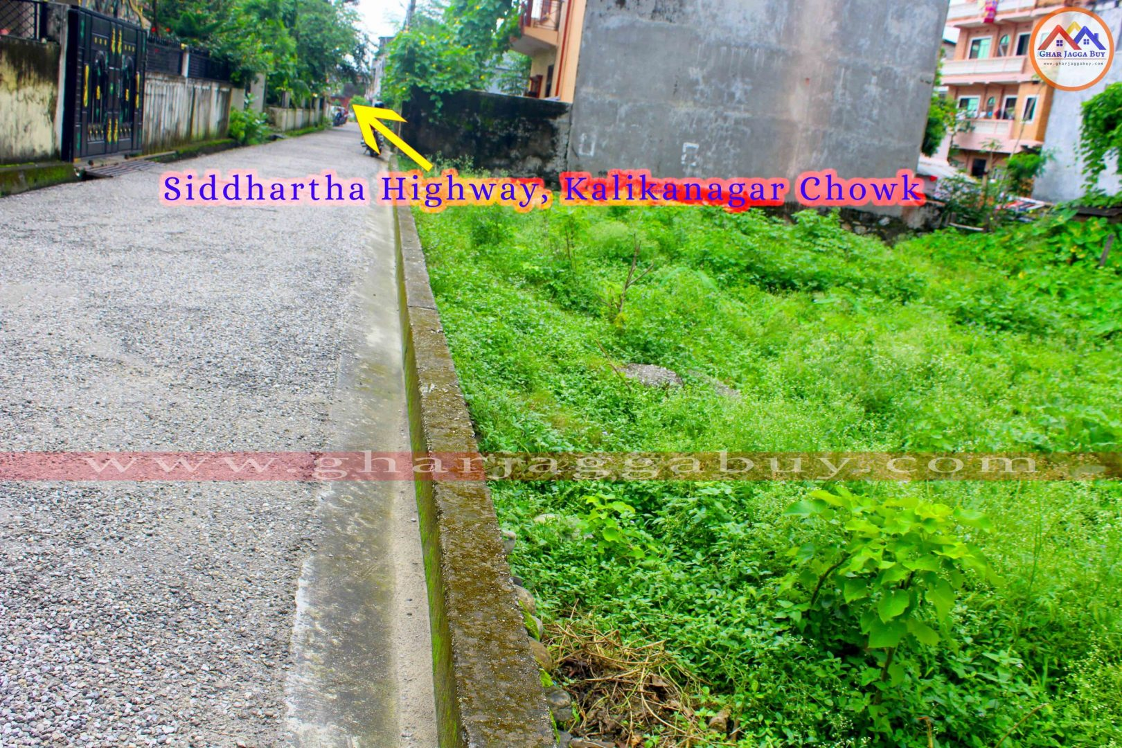 Land for sale in Butwal, Kalikanagar, Rupandehi