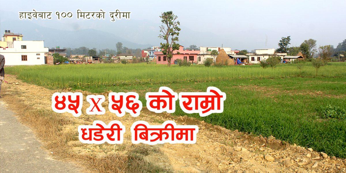 Land for sale in near highway, Devdaha-9, Rupandehi