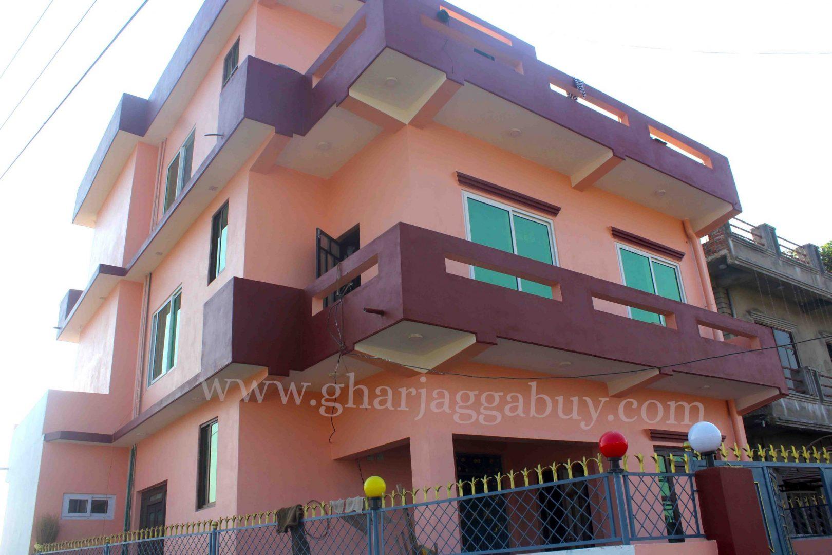 A beautiful house for sale in Manigram, Tilottama-5, Rupandehi Nepal