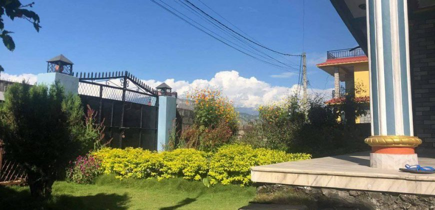 A beautiful house with parking facility and some land space is for sale in Lekhnath-10, Pokhara