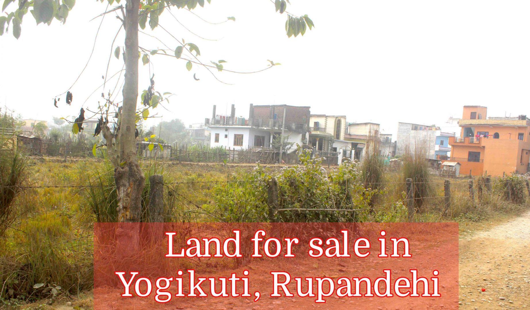 Cheap lands are for sale in Tilottama Rupandehi